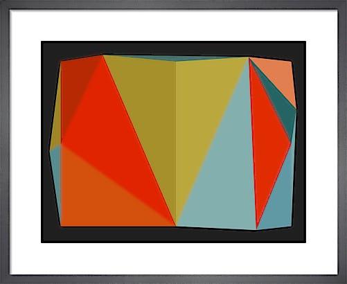 Triangulations No.5 2013 by Henri Boissiere