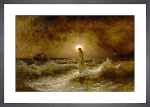 Christ Walking on the Waters by Julius Sergius von Klever