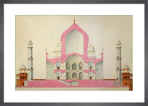 Taj Mahal, c.1816-22 from V&A