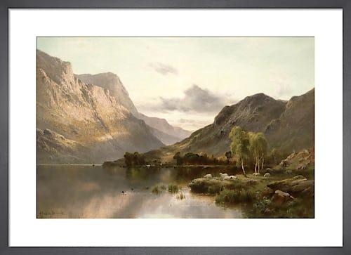 Near Dunkeld, N.B. by Alfred de Breanski