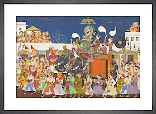 Maharao Umed Singh of Kota, c.1850 from V&A