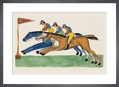 Jockeys, c.1830 from V&A