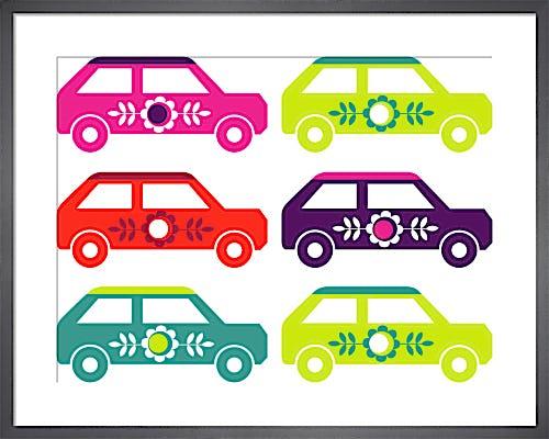 Scandinavian Cars by Marie Perkins