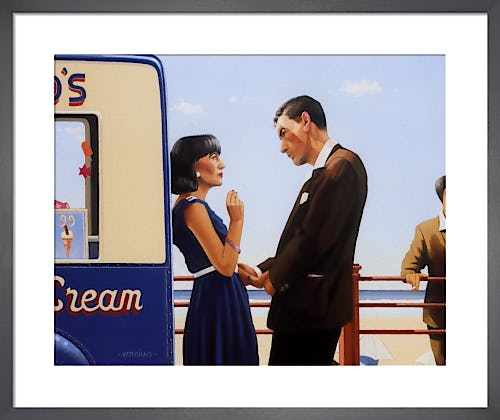 The Lying Game by Jack Vettriano