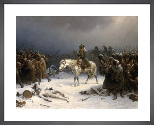 Napoleon's Retreat from Russia by Adolf Northen