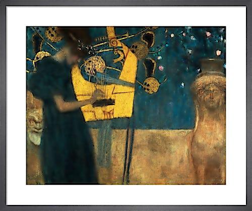 The Music, 1895 by Gustav Klimt
