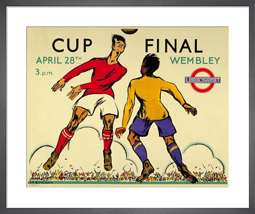 Cup Final, 1934 by Anna Katrina Zinkeisen