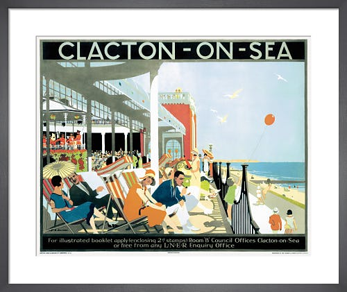 Clacton-on-Sea by Henry George Gawthorne