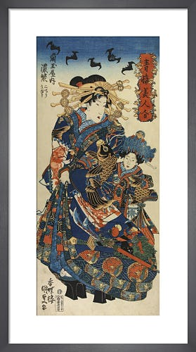 Komurasaki from Kadatama-ya by Utagawa Kunisada I