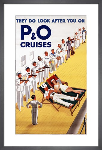They Do Look After You On P&O Cruises by John Thomas Young Gilroy