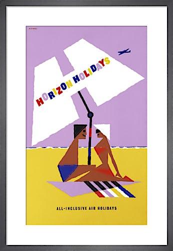 Horizon Holidays - Sunshade by Abram Games