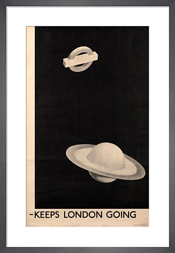 Keeps London going, 1938 by Man Ray