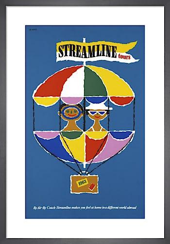 Streamline Tours by Abram Games