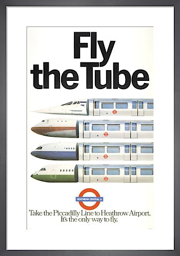 Fly the Tube, 1979 by Brian Watson and Peter Hobden (Foote, Cone & Belding)