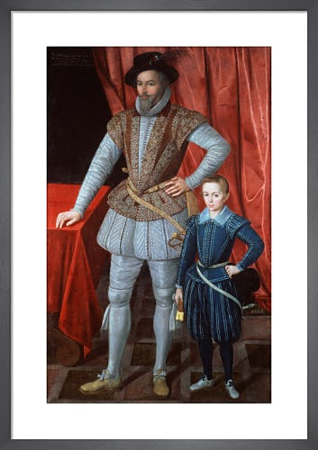 Sir Walter Ralegh from National Portrait Gallery