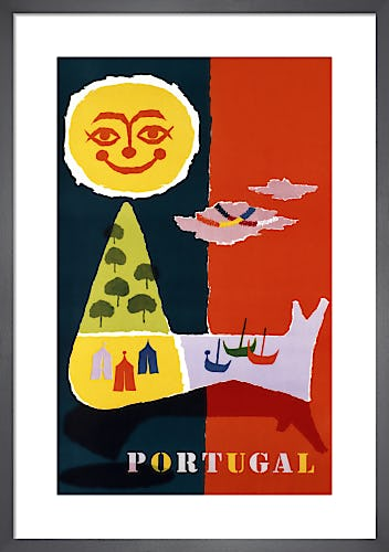 Portugal by Abram Games