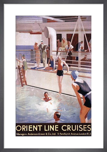 Orient Line Cruises from P&O Heritage