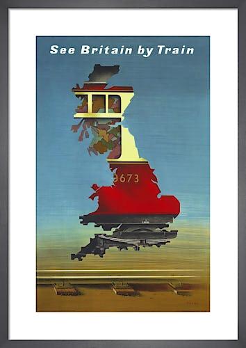 See Britain by Train, British Rail by Abram Games