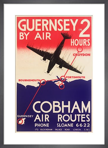 Cobham Air Routes, 1935 by Royal Aeronautical Society