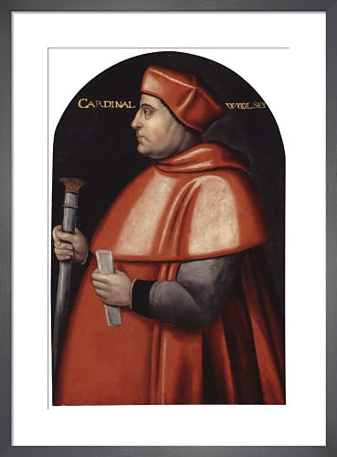 Thomas Wolsey from National Portrait Gallery