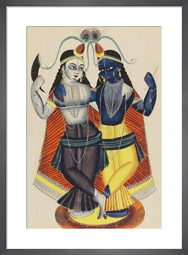 Krishna and Balarama, c.1855 from V&A