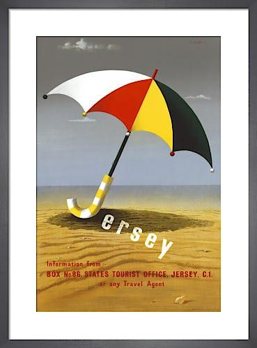 Jersey Umbrella by Abram Games