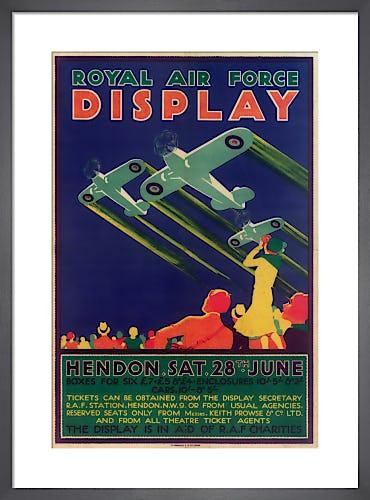 Royal Air Force Display, Hendon, 1930 by Royal Aeronautical Society