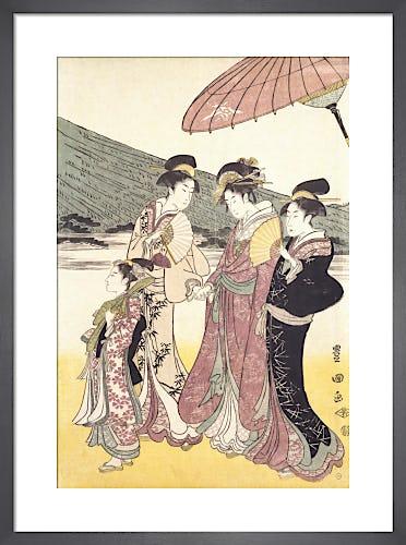 Daimyo Procession by Utagawa Toyokuni I