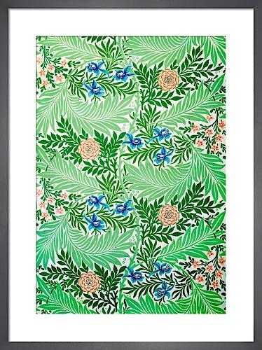 Larkspur by William Morris