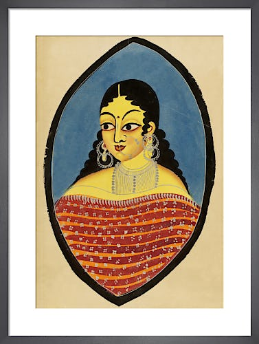 A Bengali courtesan, c.1880 from V&A