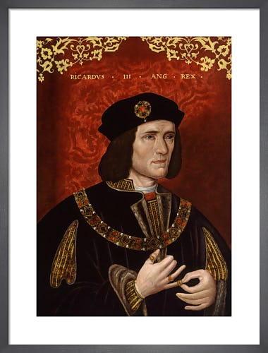 King Richard III from National Portrait Gallery