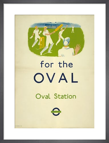 For the Oval, 1937 by Gill Lancaster
