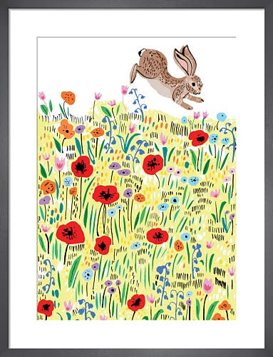 Meadow Rabbit by Louise Cunningham