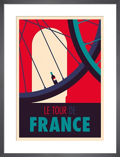 Tour de France by Spencer Wilson