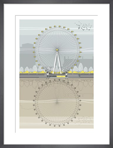 London Eye by Linescapes