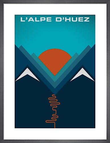 L'Alpe d'Huez by Jeremy Harnell