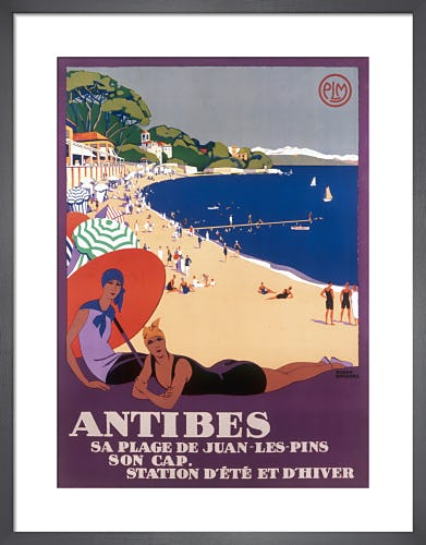 Antibes by Roger Broders