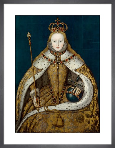 Queen Elizabeth I from National Portrait Gallery