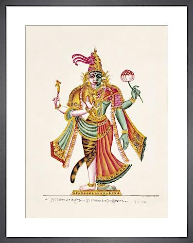 Ardhanari, c.1825 from V&A