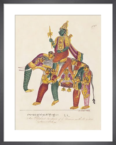Manmatha or Kama, the god of love, c.1820 from V&A