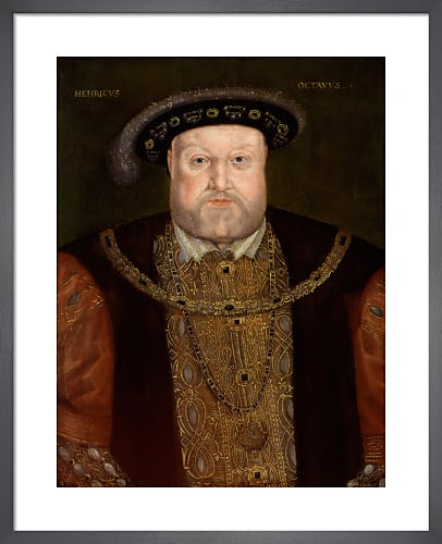 King Henry VIII from National Portrait Gallery