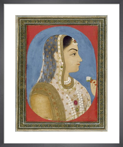 Mughal miniature, 18th century from V&A