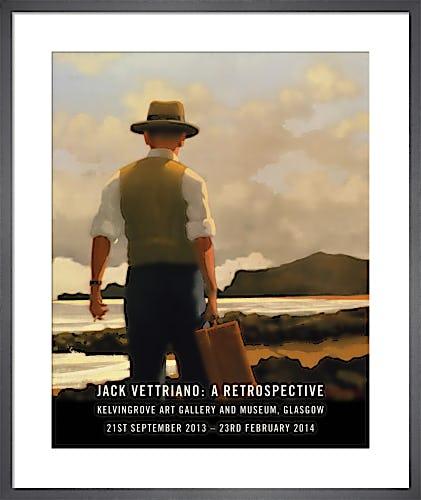 The Drifter - Retrospective 2014 by Jack Vettriano