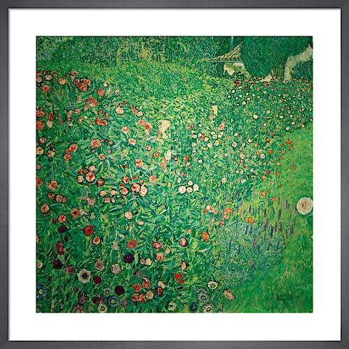 Italian Garden Landscape, 1913 by Gustav Klimt