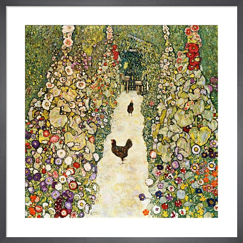 Garden Path with Chickens, 1916 by Gustav Klimt