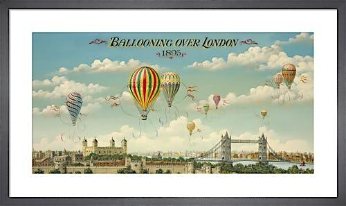 Ballooning Over London by Isiah and Benjamin Lane