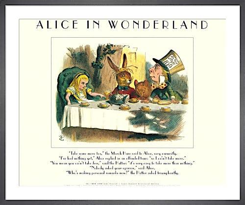 Alice III (Mad Hatter) by Sir John Tenniel