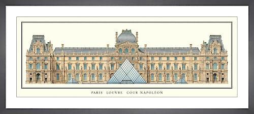 Paris - Louvre, Cour Napoleon by Anonymous