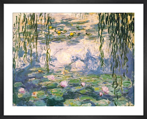 Water Lilies and Willow Branches by Claude Monet
