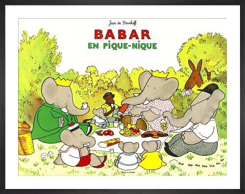 Babar en Pique-Nique by Jean de Brunhoff